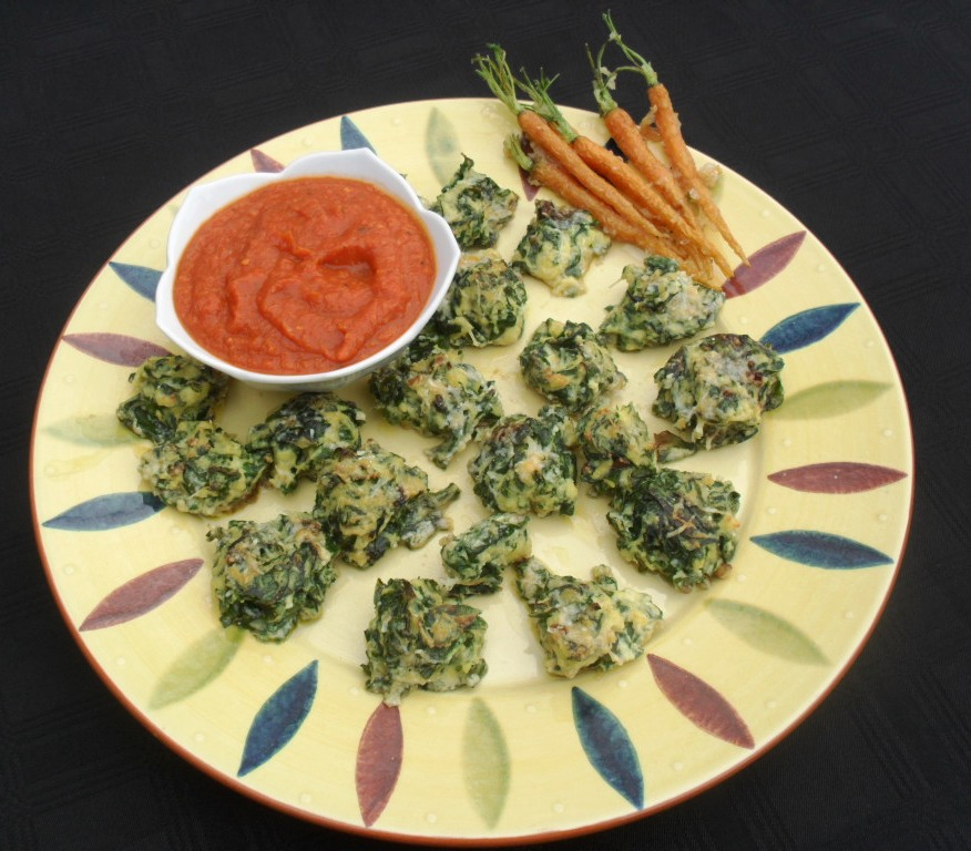 spinach and ricotta dumplings with tomato sauce recipe