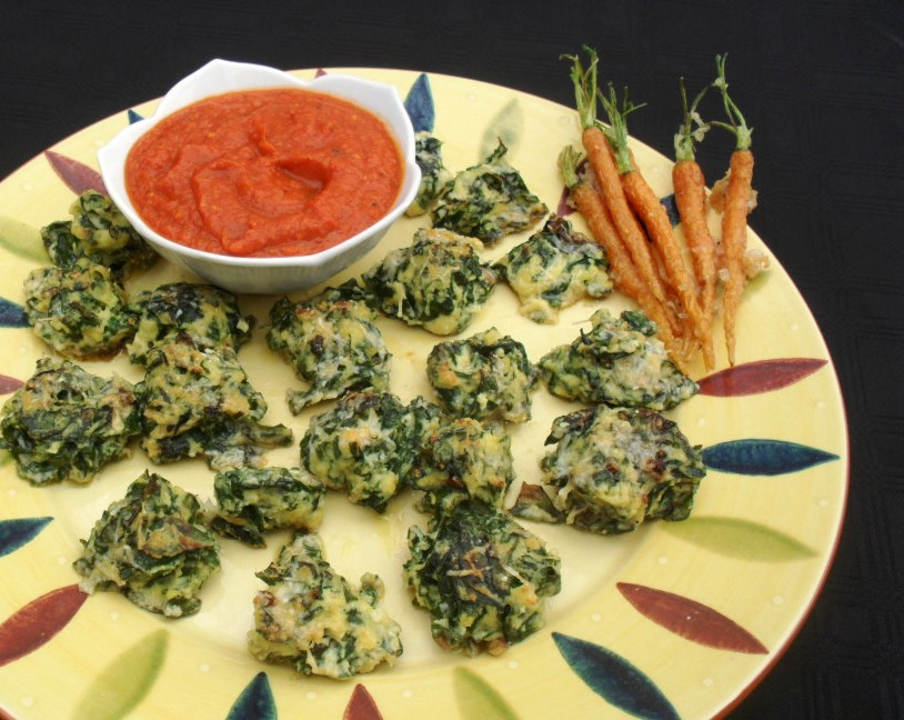 Spinach and ricotta gnocchi with a tomato sauce spinach gnocchi with a tomato sauce 2