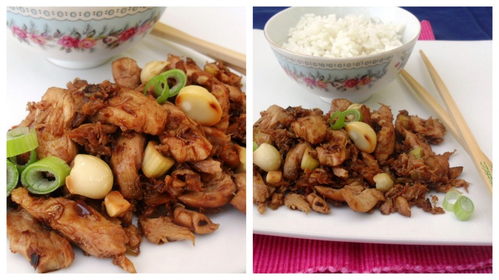 chilli chicken stir-fry with macadamia nuts recipe