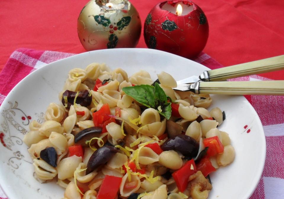 Vegeterian pasta