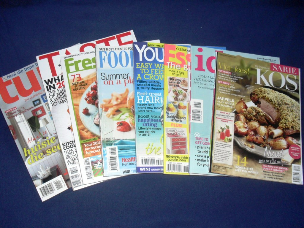 In my Kitchen in January 2013 magazines