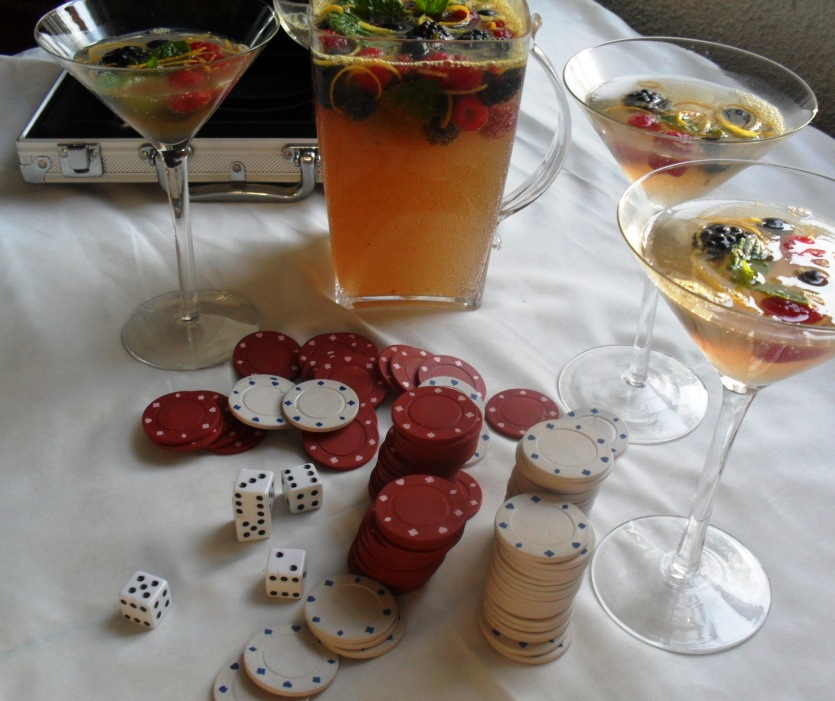 Mixed Berries Punch Recipe for Golden Globes Bingo punch 1