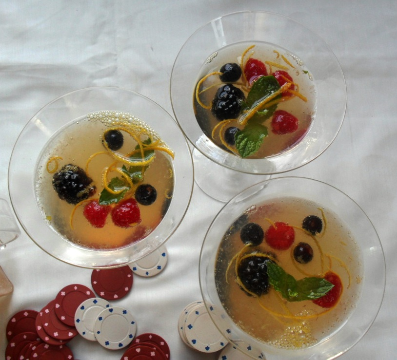Mixed Berries Punch Recipe for Golden Globes Bingo punch 2