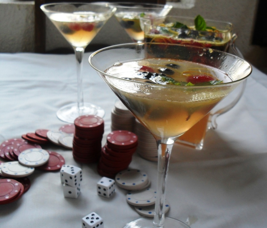 Mixed Berries Punch Recipe for Golden Globes Bingo punch 3