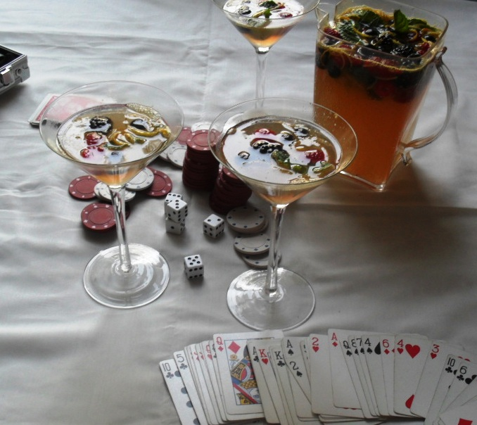 Mixed Berries Punch Recipe for Golden Globes Bingo punch 4
