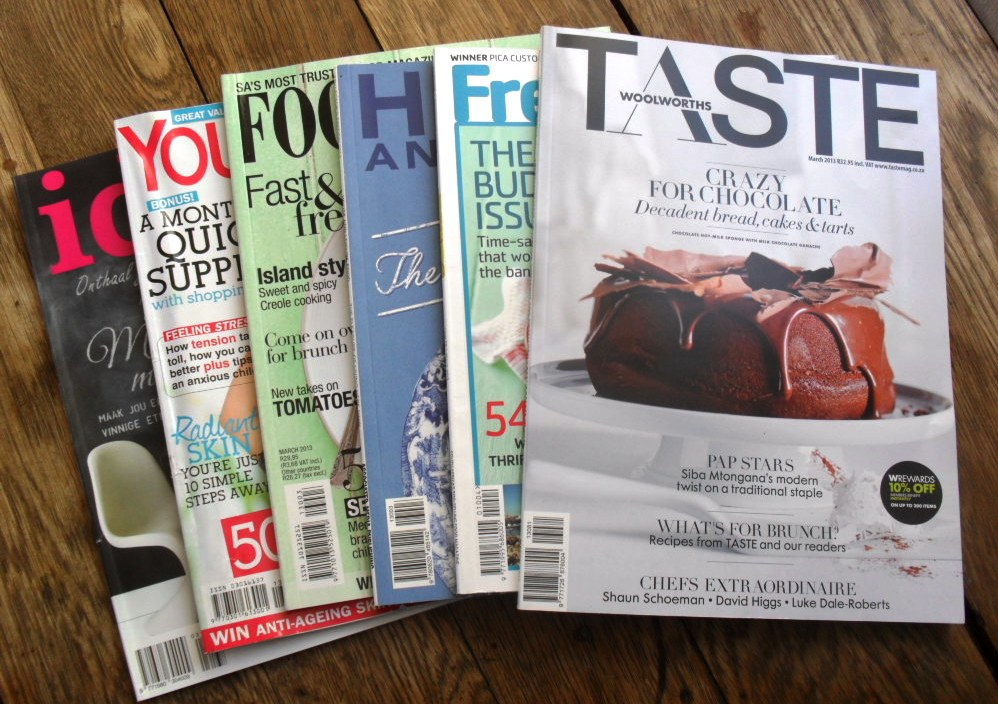 Magazines for March 2013