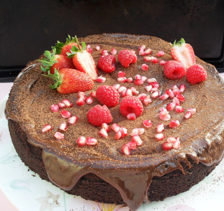 Almond Chocolate cake