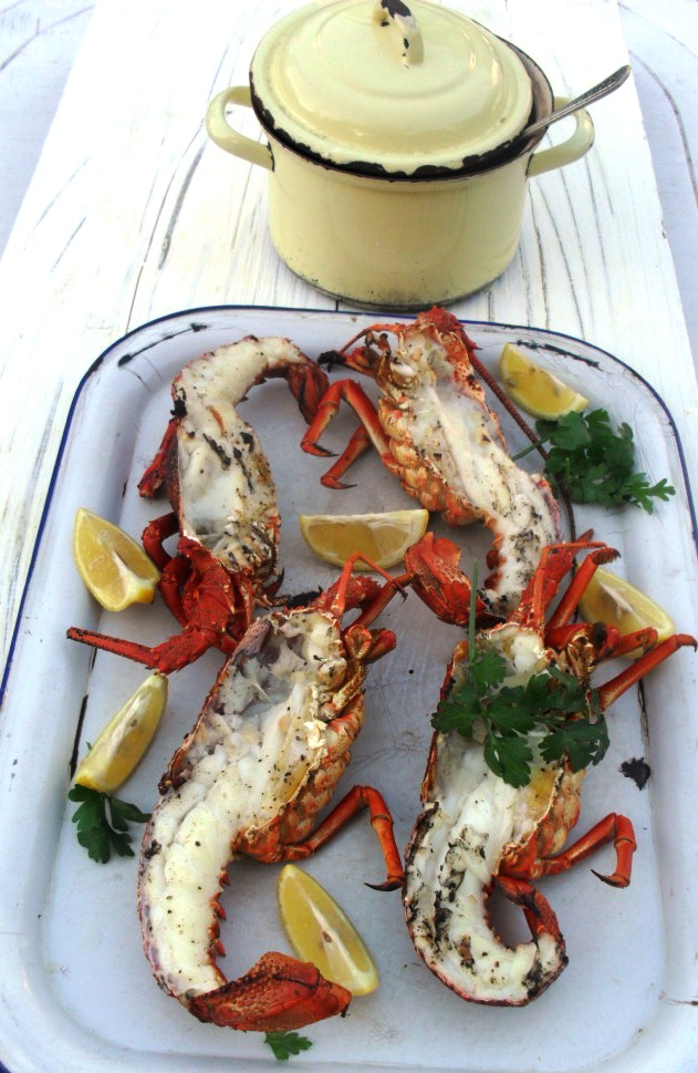 Crayfish with a sparkling wine sauce