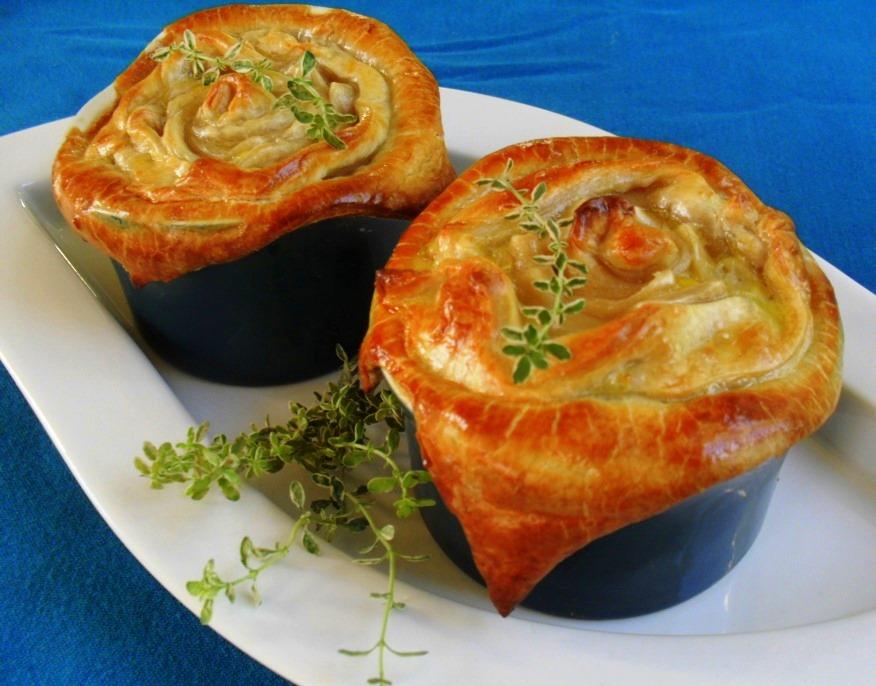 mushroom potpies