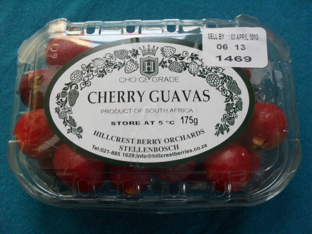 Cherry guavas 1