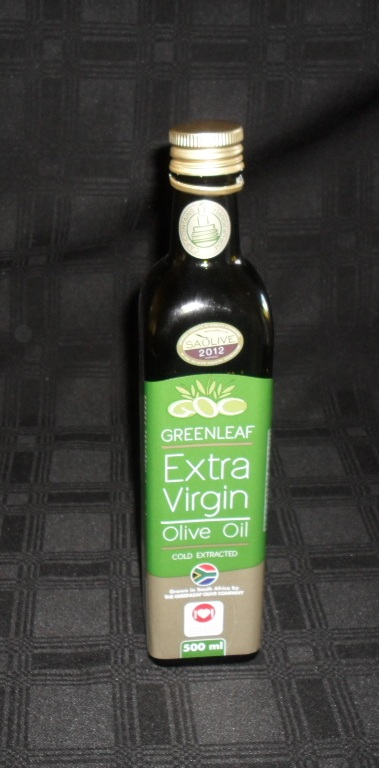 In my kitchen in May 2013 Greenleaf olive oil