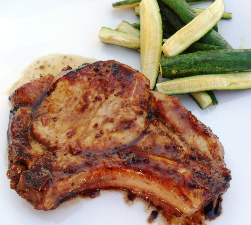 The weekly menu honey and mustard pork chops 11