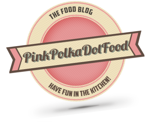 Pink Polka Dot Food