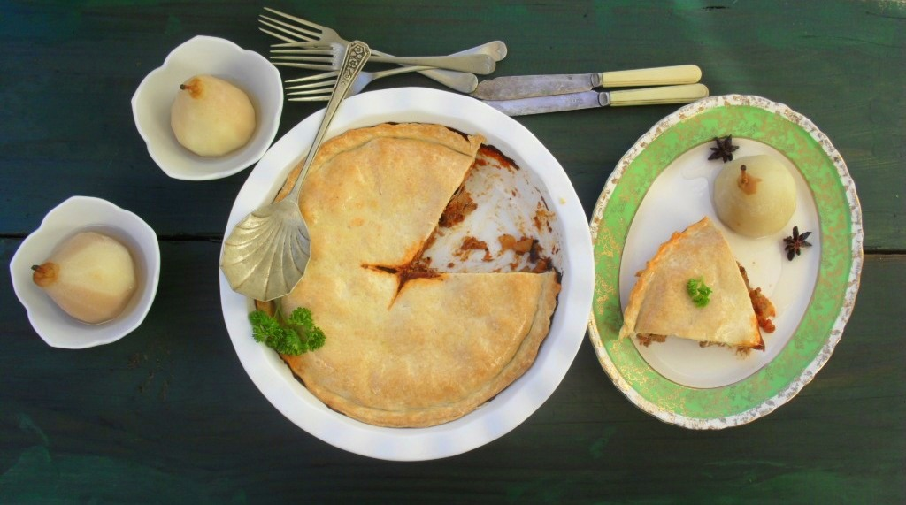 Beef and vegetable pie recipe