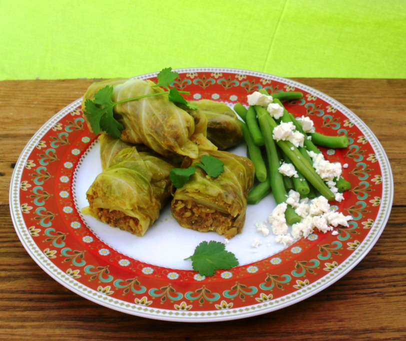 Fish Breyani in cabbage rolls recipe