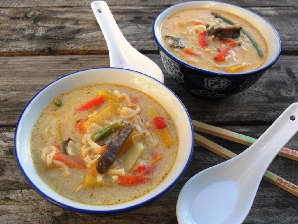 Stir fry vegetable soup