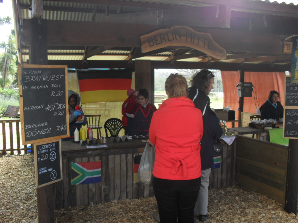 German Food at Outeniqua Farmers Market