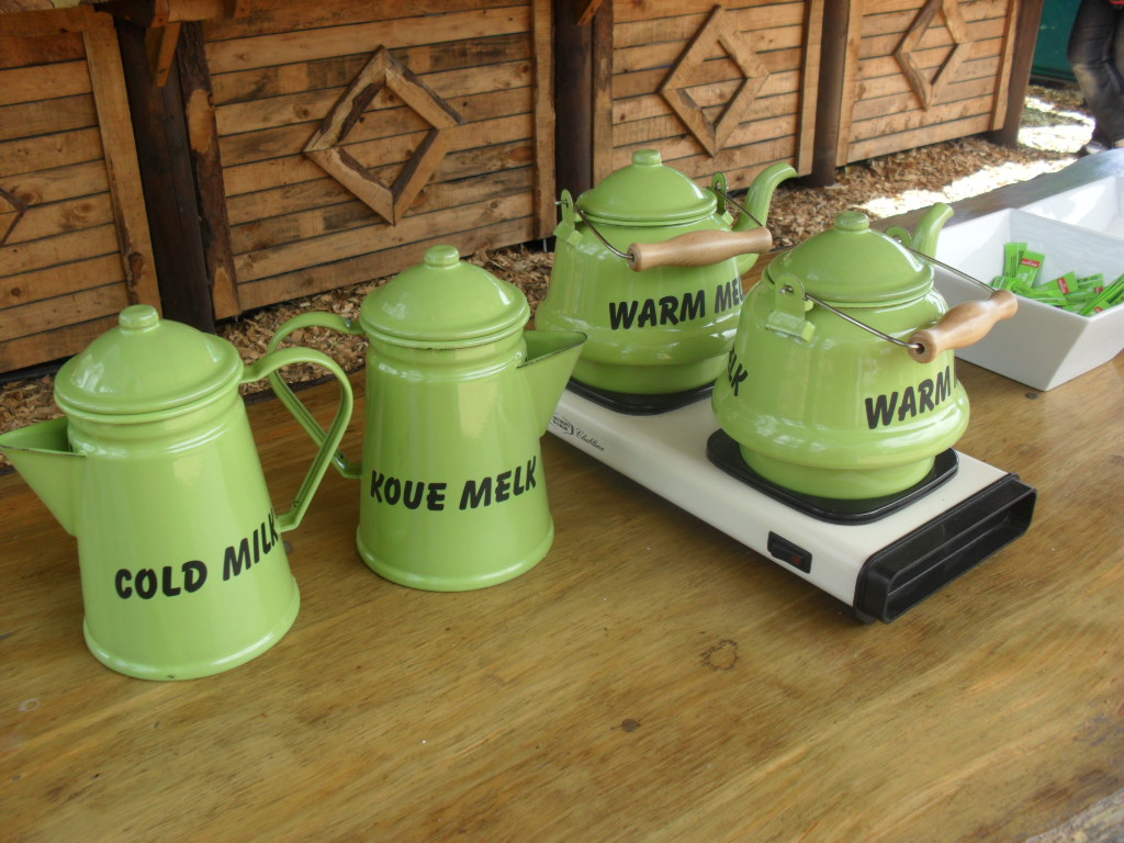 Coffee Pots at Outeniqua Farmers Market