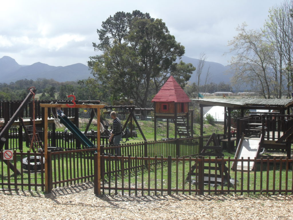 Play park at Outeniqua Farmer's Market