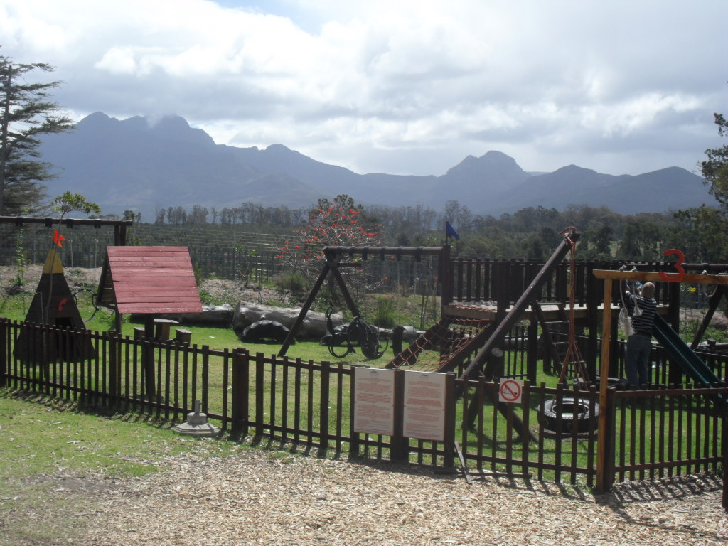 Playpark at Outeniqua Farmer's Market