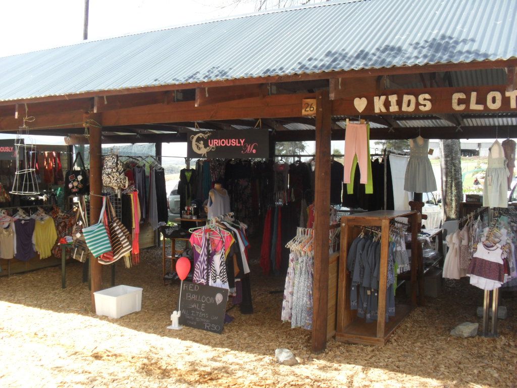 Clothing at Outeniqua Farmer's Market