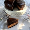Chocolate cake with mousse fillingA>