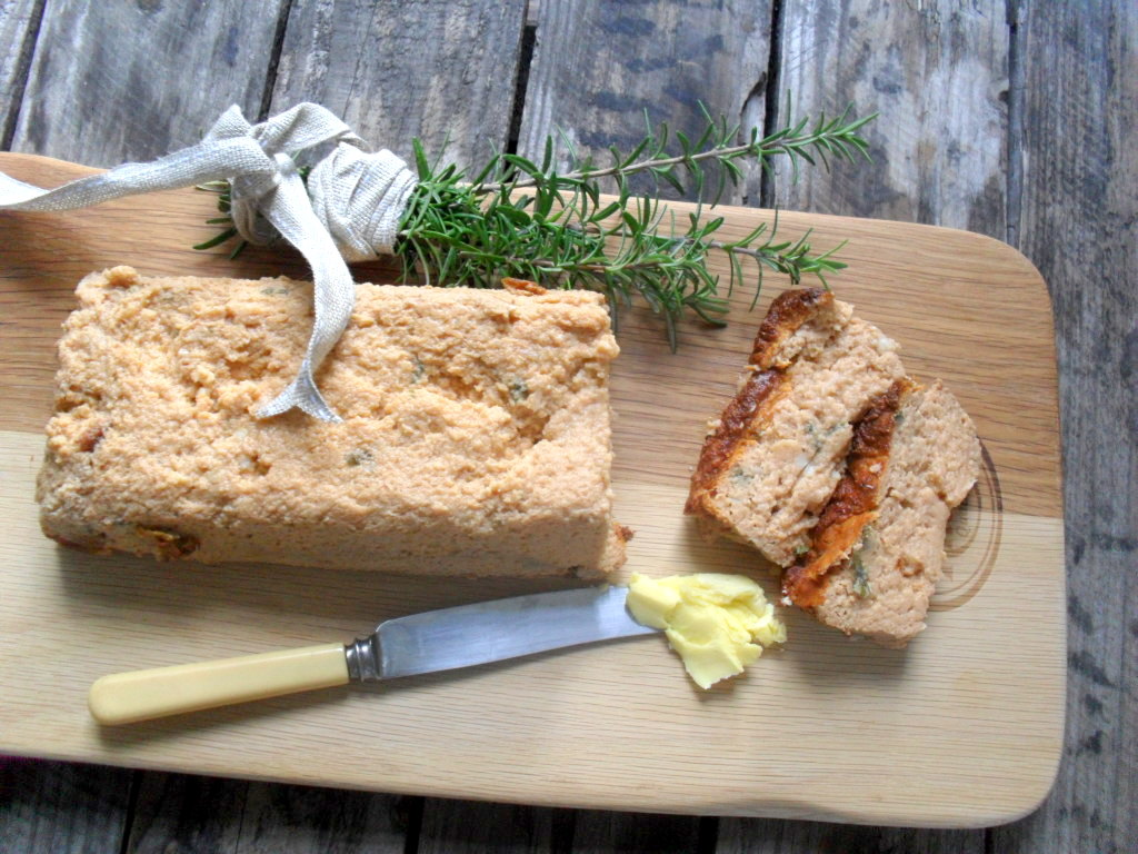 bread made with cauliflower