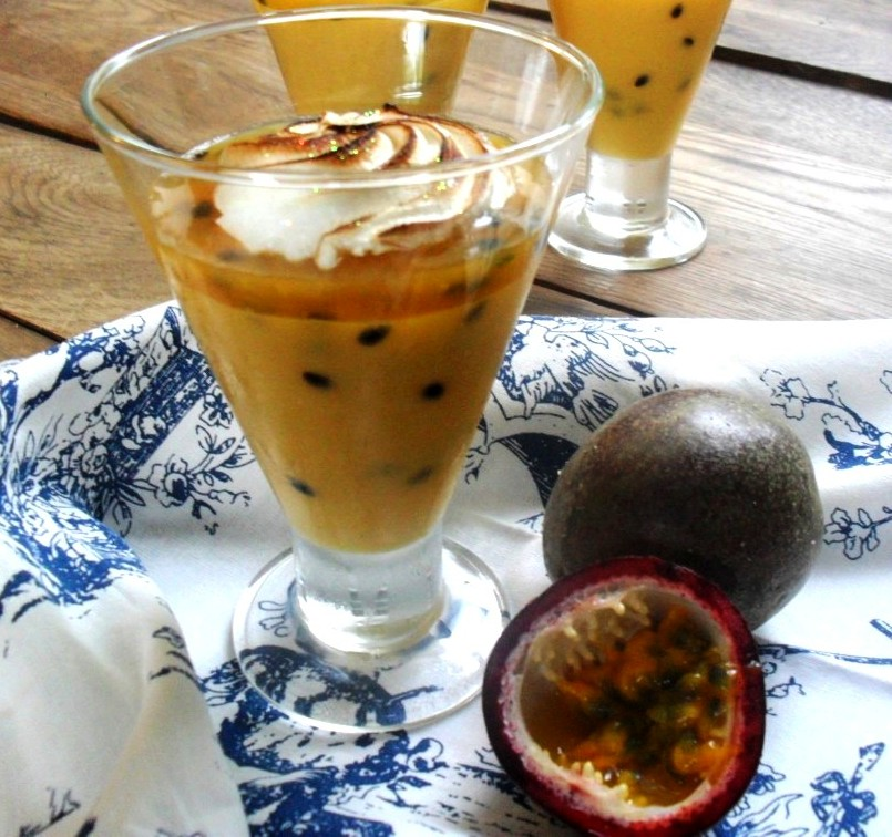 Passion fruit cream