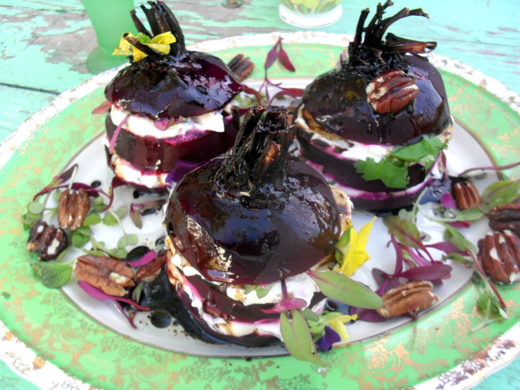 beetroot stacks