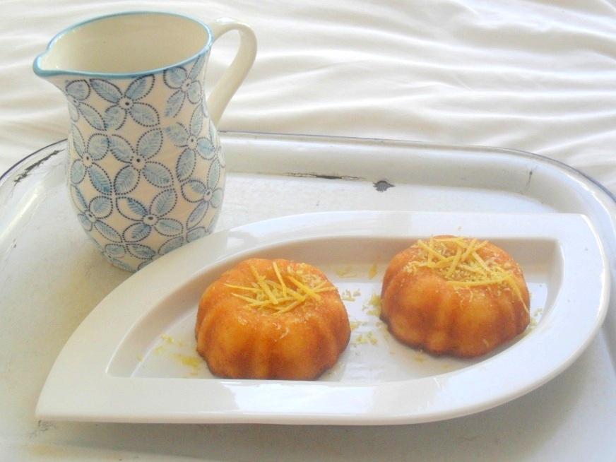 lemon cake puddins