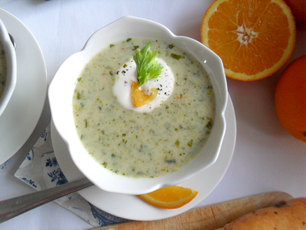 Creamy Orange Sunshine Soup Recipes — Dishmaps
