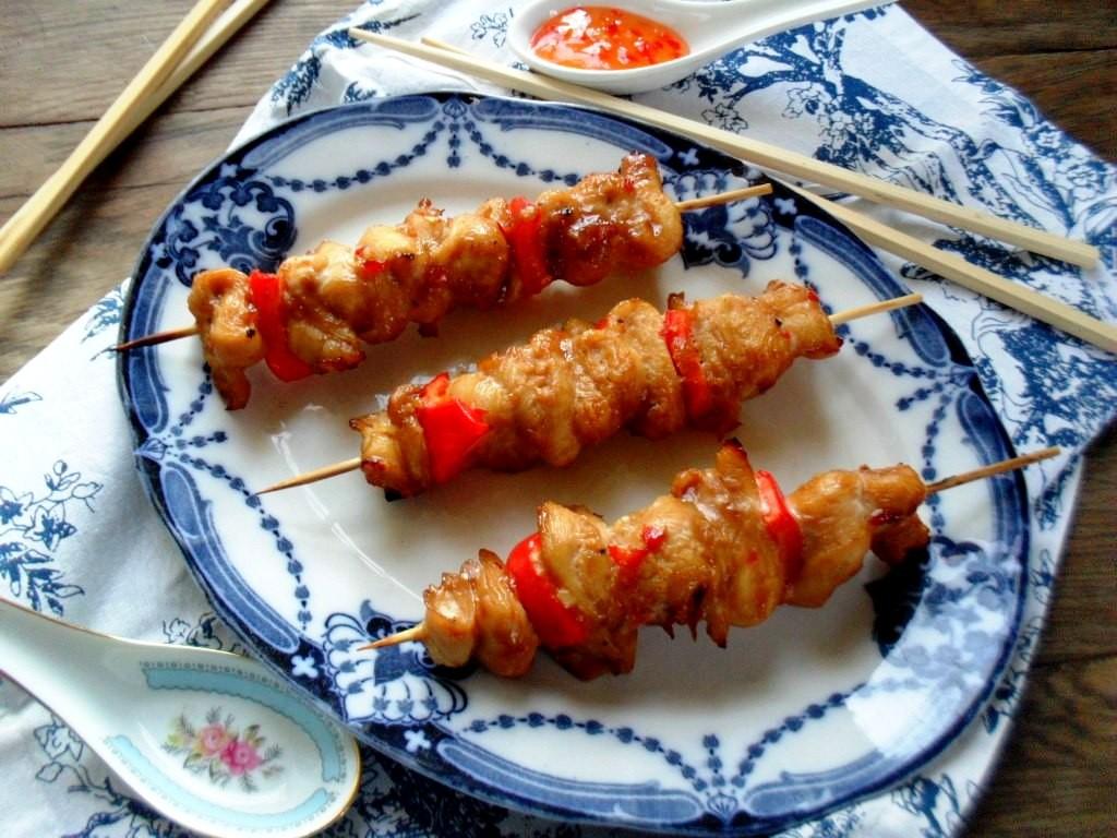 sweet chilli chicken soastie recipe