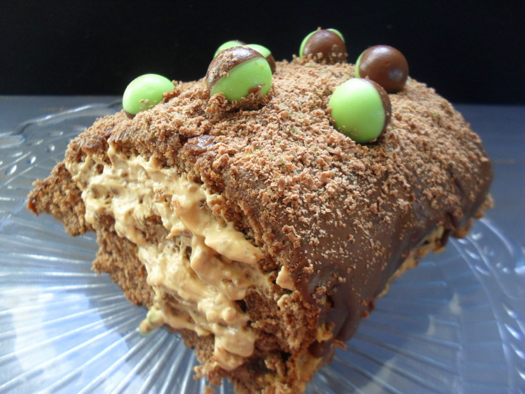 peppermint crisp swiss roll