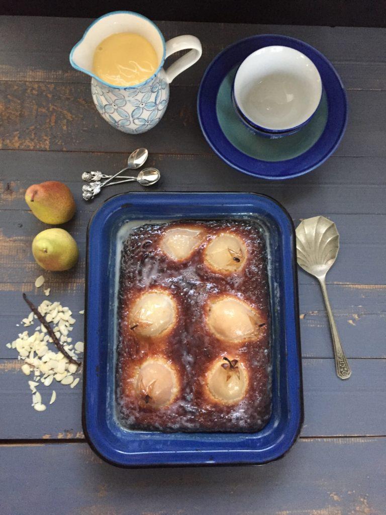 almond pear dessert