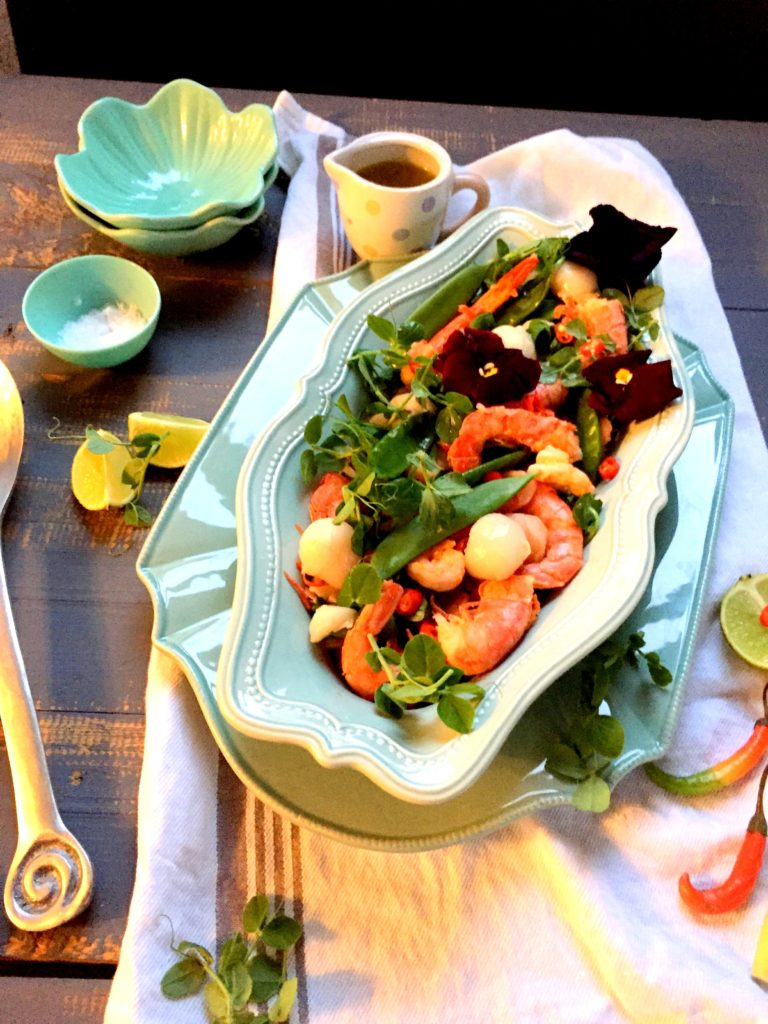 litchi salad